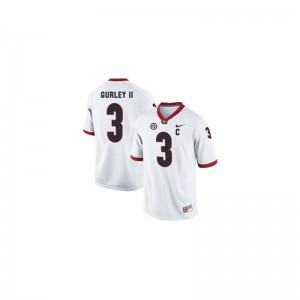 Todd Gurley Limited Jerseys For Men Alumni UGA Bulldogs White Jerseys