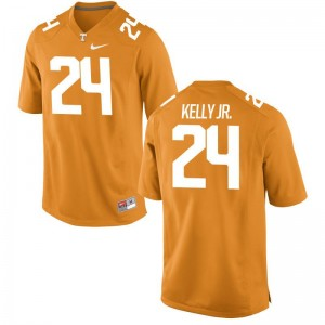 For Men Limited Stitch Tennessee Jersey Todd Kelly Jr. Orange Jersey