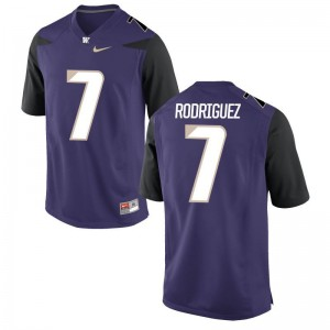 Purple Tony Rodriguez Jerseys 3XL Washington Limited For Men