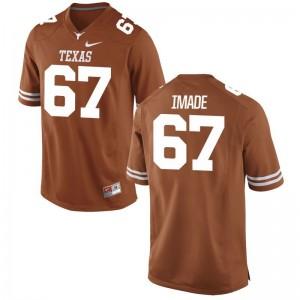 Men Tope Imade Jersey Alumni Orange Limited Longhorns Jersey