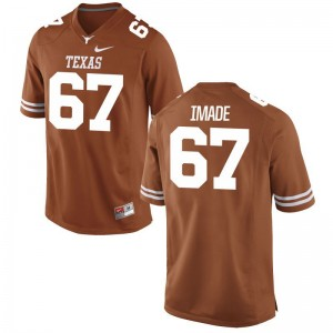 Tope Imade Longhorns Jersey Large Limited For Men Jersey Large - Orange