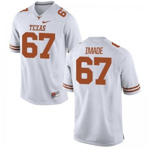 University of Texas Jerseys X Large Tope Imade For Kids Limited - White