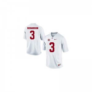 University of Alabama Trent Richardson Jerseys Men Limited - White