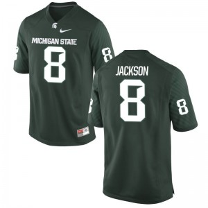 Mens Trishton Jackson Jersey Mens XXL Michigan State Spartans Limited Green