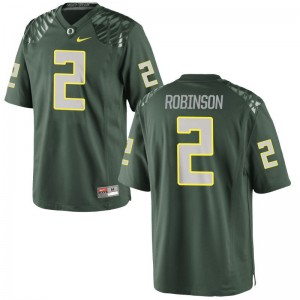 Limited Tyree Robinson Jerseys Youth X Large Oregon Ducks Kids Green