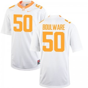 Venzell Boulware For Men Jerseys Men Large Tennessee Limited - White