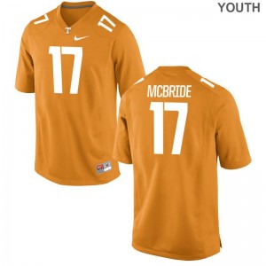 Tennessee Will McBride Jerseys Official Youth Limited Orange Jerseys
