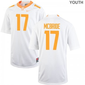 Will McBride Tennessee Jerseys Youth Medium Kids White Limited