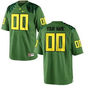 Oregon Ducks Custom Jerseys S-XL Limited Kids - Apple Green Alternate
