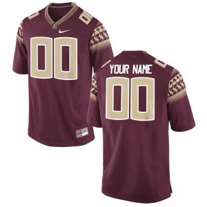 Custom Jerseys FSU Seminoles Garnet Limited Youth Custom Jerseys