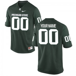 Michigan State University For Kids Limited Custom Jersey Green