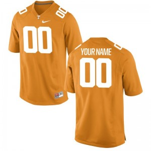 Tennessee Vols Customized Jerseys Large Youth Limited Orange