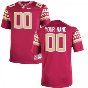 FSU Seminoles Customized Jerseys Youth XL For Kids Limited - Garnet