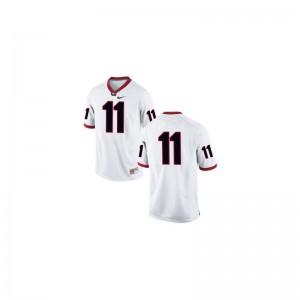 #11 White Limited Greyson Lambert Jersey XL For Kids UGA