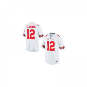 Cardale Jones For Kids Jerseys S-XL Limited #12 White Ohio State