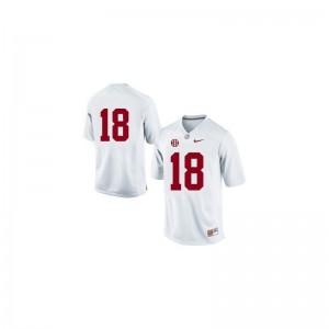 Alabama Crimson Tide Alumni Cooper Bateman Limited Jersey #18 White Kids