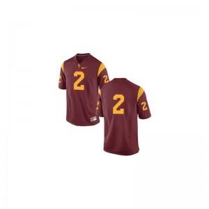 Robert Woods Trojans Jerseys Large Limited #2 Cardinal For Kids