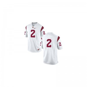 USC Robert Woods Jersey Small Youth(Kids) Limited #2 White