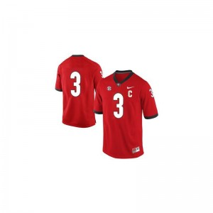Georgia Bulldogs Todd Gurley Jerseys Stitch Youth Limited #3 Red Jerseys