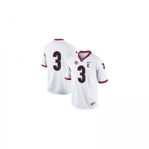 Todd Gurley Kids Jerseys Youth Small Georgia Bulldogs #3 White Limited