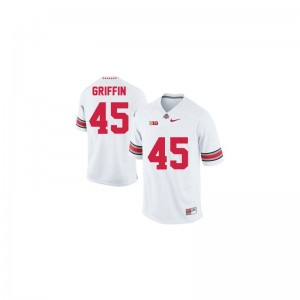 OSU Buckeyes Jersey XL Archie Griffin Limited For Kids - #45 White