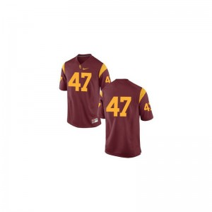 Clay Matthews Trojans Jerseys Large Limited For Kids - #47 Cardinal