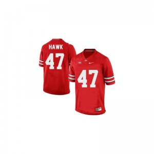 Youth(Kids) A.J. Hawk Jerseys #47 Red Limited Ohio State Jerseys