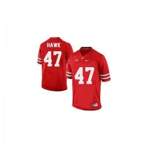 Youth(Kids) A.J. Hawk Jerseys #47 Red Limited Ohio State Jerseys
