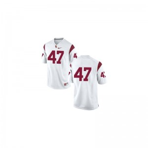 Clay Matthews Trojans Jersey Kids Limited #47 White College