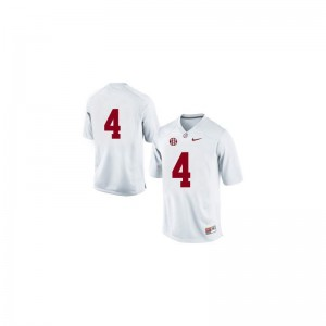 Bama T.J. Yeldon Jerseys X Large Limited #4 White Youth