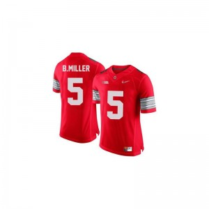 Braxton Miller For Kids Jersey X Large Ohio State Limited - #5 Red Diamond Quest Patch
