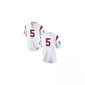 USC Trojans Reggie Bush Jersey Youth X Large For Kids #5 White Limited