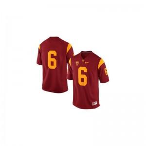 USC Cody Kessler Limited For Kids Player Jersey - #6 Cardinal