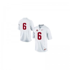 #6 White Blake Sims Jerseys Youth Medium Bama Limited For Kids