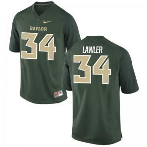 Miami Hurricanes Zackary Lawler Jersey Men Small Limited Mens Jersey Men Small - Green